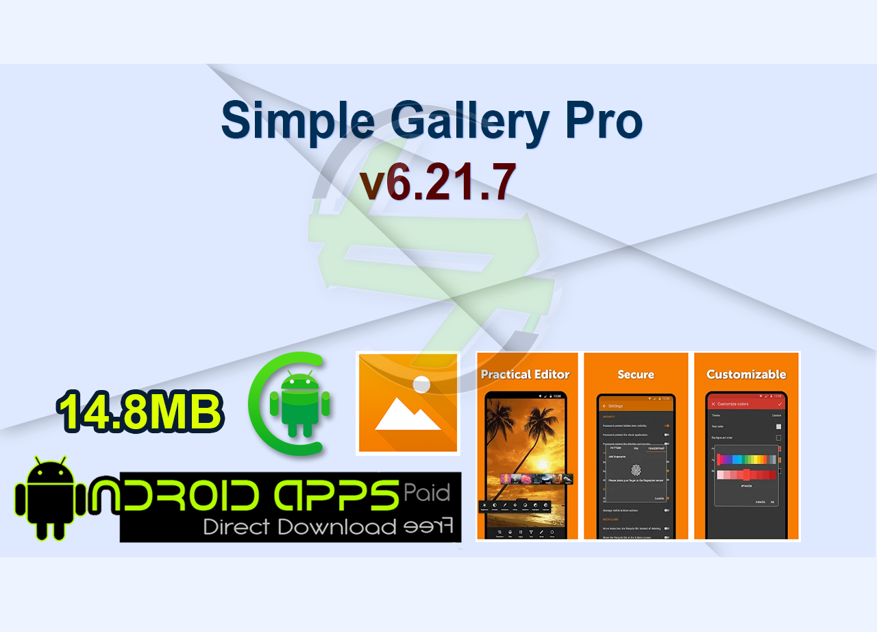 Simple Gallery Pro v6.21.7
