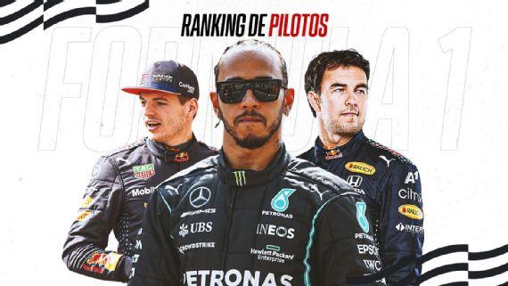 F1: Ranking de pilotos luego del GP de Estados Unidos