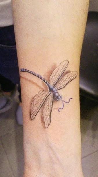 dragon shoulder tattoo