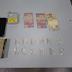 Dois homens são detidos pela PMAM por tráfico de entorpecentes no Centro