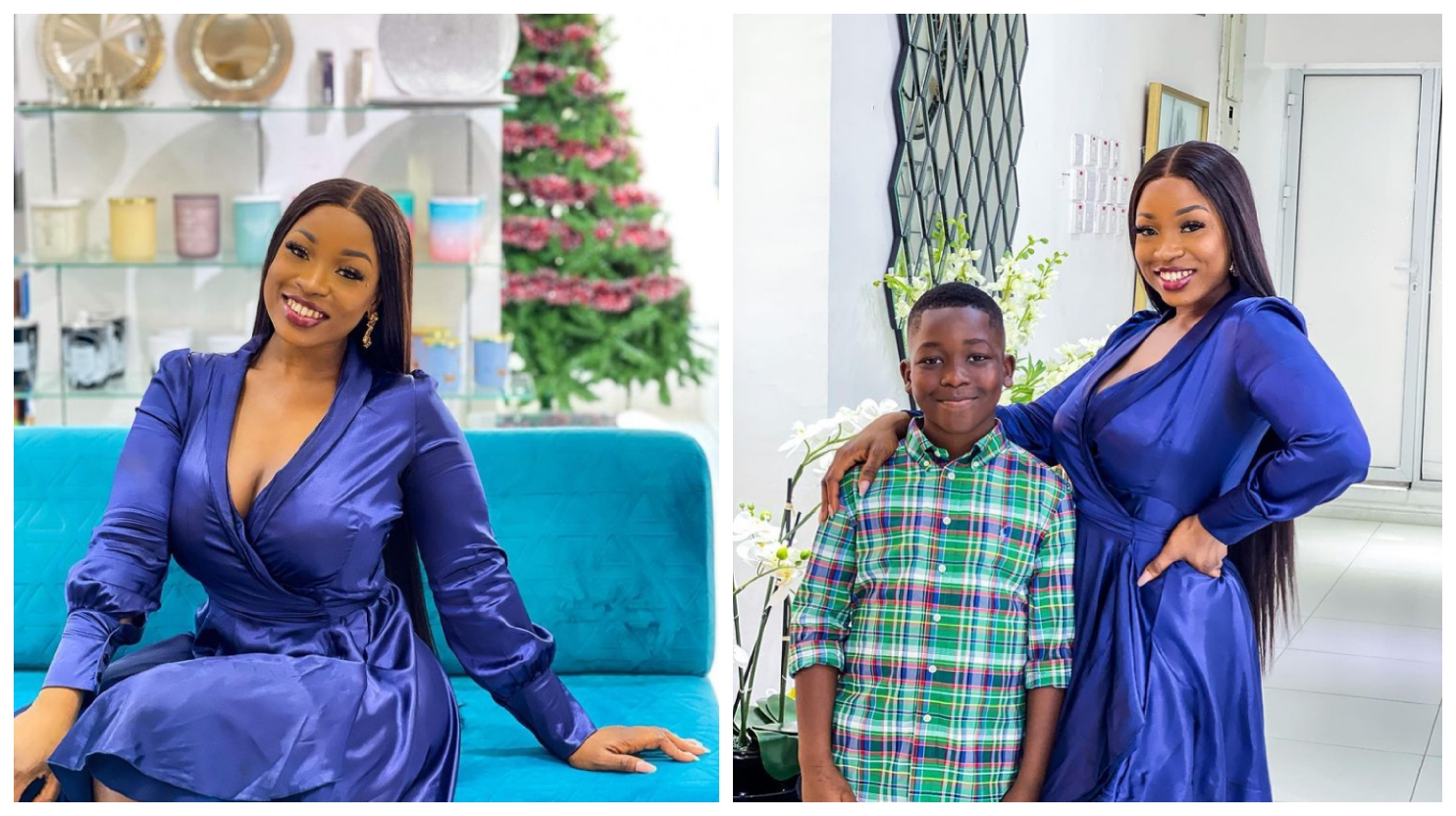 BBNaija: Motherhood is beautiful, Check out recent pictures of Jackie B and her cute son