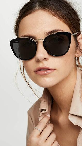 Fashionable Authentic Prada Cat Eye Sunglasses For Women