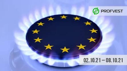 Важные новости из мира финансов и экономики за 02.10.21 - 08.10.21. Цена на газ в Европе подскочила