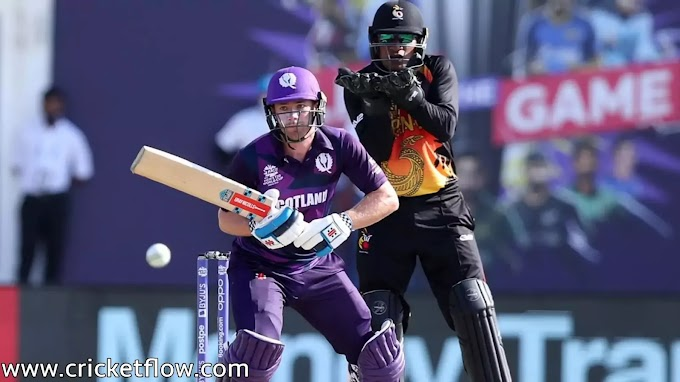 T20 World Cup | Qualifier Round | Scotland beat Papua New Guinea by 17 runs