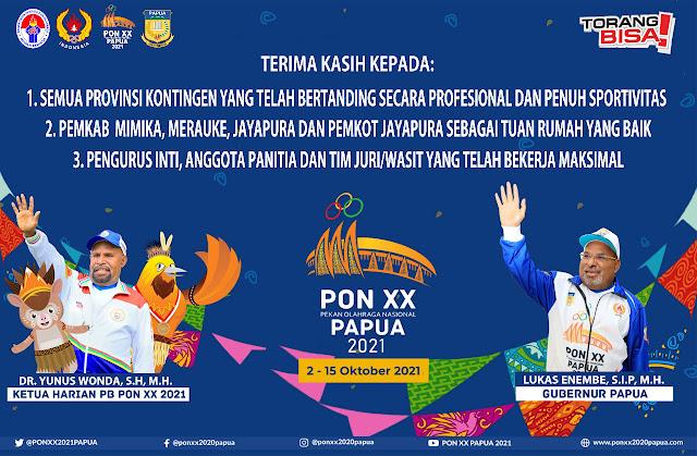 pon xx papua