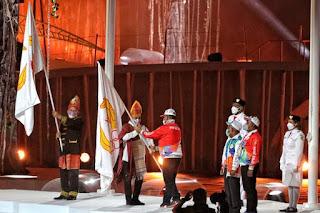 Sumut dan Aceh Terima Bendera Tuan Rumah PON 2024