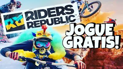 Riders Republic GRÁTIS na UBISOFT - Jogue e Ganhe Prêmios