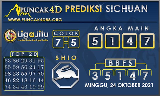 PREDIKSI TOGEL SICHUAN PUNCAK4D 24 OKTOBER 2021