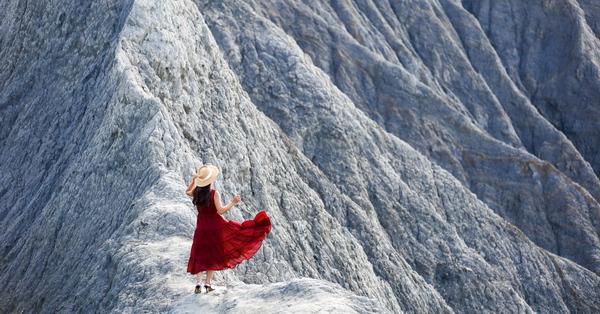 台南大內彩疊山(赤裸龍)迷你版月世界,台南三大地景之一輕鬆到達