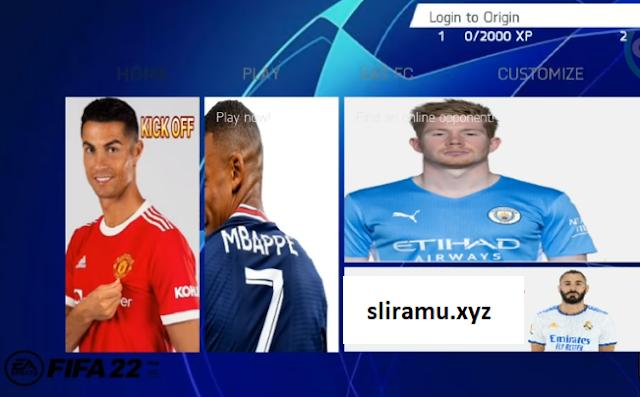 Fifa 22 Mod Fifa 14 Liga Champions Edition Grafik HD New Transfer & Kits 21/22