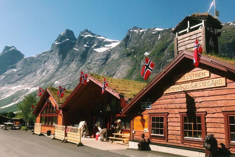 кемпинг - Trollstigen Camping и Gjestegård в Норвегии