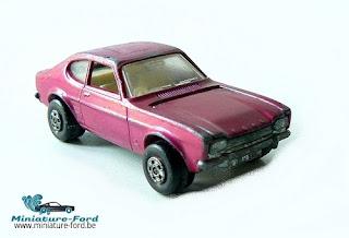 Matchbox, Ford Capri, Pink