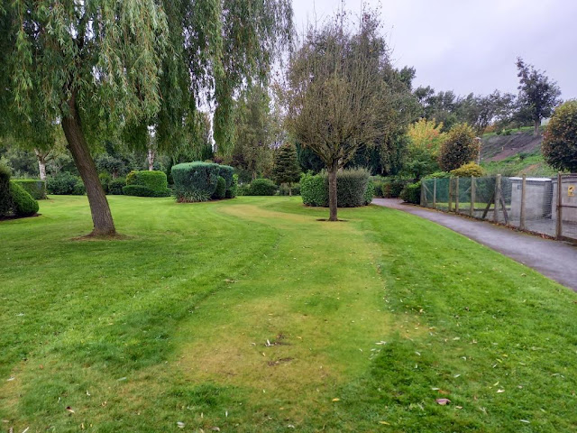 Putting Green at Vickersway Park in Northwich, Cheshire