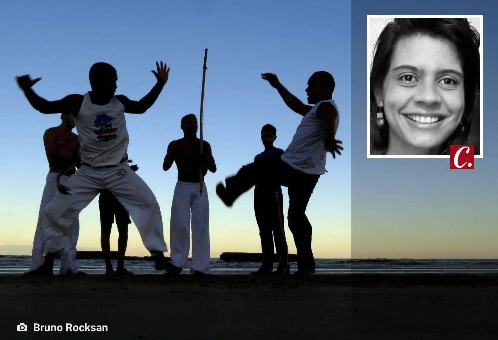 capoeira fluir urucungo forca mulher feminismo mariana sanfer holistica terapia