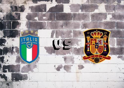 Italia vs España  Resumen y Partido Completo
