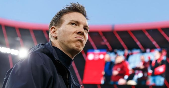 Bayern coach Julian Nagelsmann tests positive for Covid-19 despite being fully vaccinated