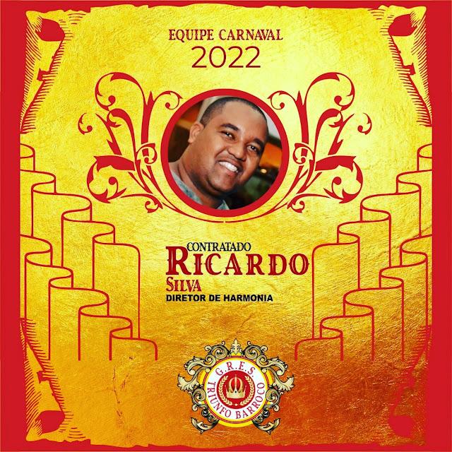 Ricardo Silva Assume a Direção de Harmonia da Escola de Samba Triunfo Barroco