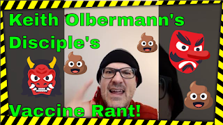 Vaccination Nazis Strike Again: image of parody video thumbnail and text.