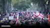 На площади Свободы в Тбилиси проходит митинг в поддержку освобождения Саакашвили из тюрьмы