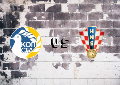 Chipre vs Croacia  Resumen