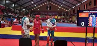 Melaju ke Final,  Atlet Wushu Moria Manalu Minta Restu Seluruh Masyarakat Papua