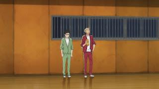 ハイキュー!! アニメ 2期3話 烏養繋心 武田一鉄   HAIKYU!! Season2 Karasuno