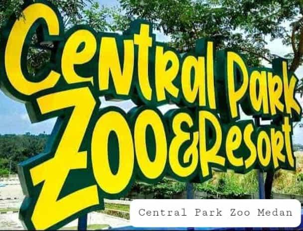 Central park zoo medan