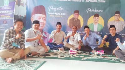 Samsudin Bergerilya Galang Dukungan Untuk Rebut Tanfidziah NU Lombok Tengah