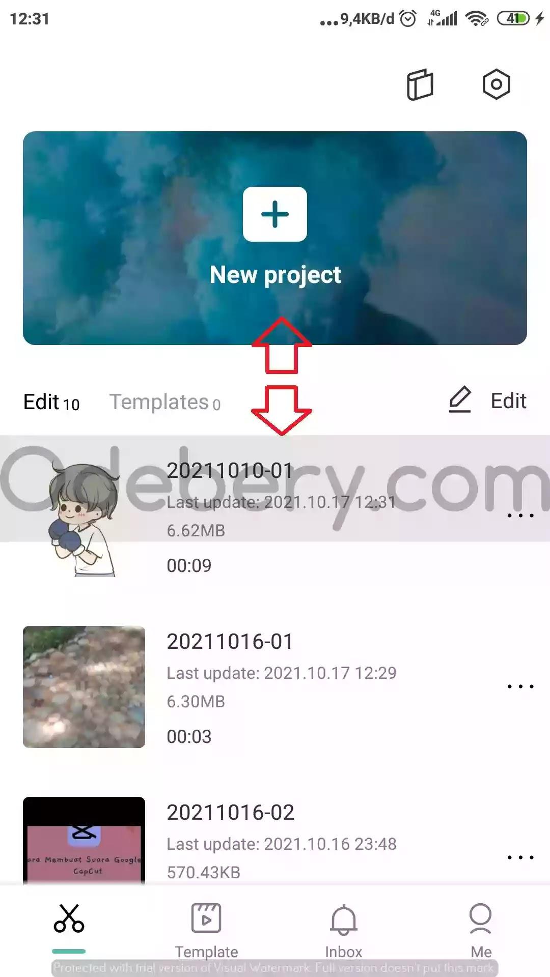 Cara Menghilangkan Watermark di Aplikasi CapCut