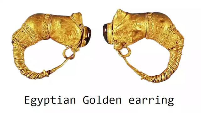 Egyptian Golden earring