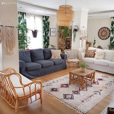 Moda ev dekorasyonlarından...
