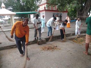 जगह-जगह चला स्वच्छता अभियान, किया गया जागरूक    #NayaSaberaNetwork
