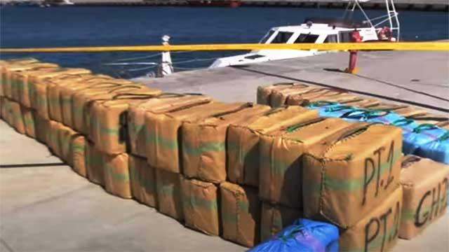 طنجة: حجز 3 أطنان من المخدرات في عرض البحر