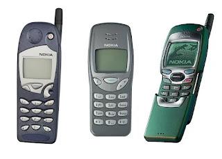Nokia 5110, Nokia 3210 and Nokia 7110