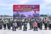 Kapolri Saat  Pimpin Apel Pasukan Sambut Wisman di Bali : Sebagai Gerbang Terakhir Tolong Disiplin