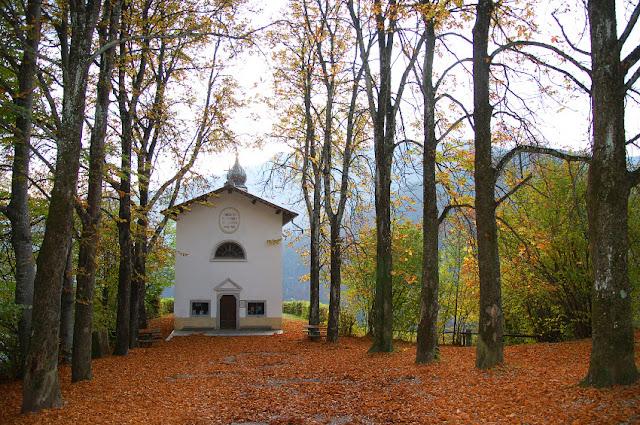 autunno trentino valle di ledro