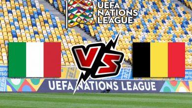 ايطاليا و بلجيكا بث مباشر كورة جول بث مباشر Italy vs Belgium