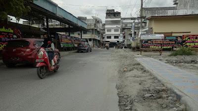 Kupak Kapik Jalan Bekas Proyek Perpipaan di Tebingtinggi Didesak Diperbaiki
