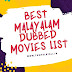 Best Malayalam Dubbed Movies List