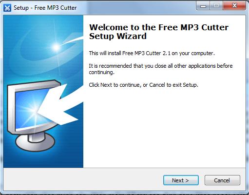 Hướng dẫn cài đặt Free MP3 Cutter a