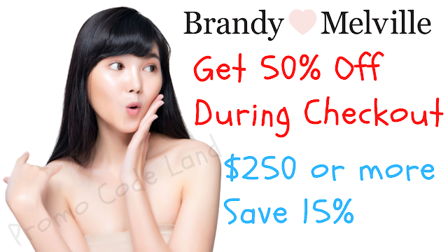 Brandy Melville Coupon - 50% Off w/2022 Discount Code