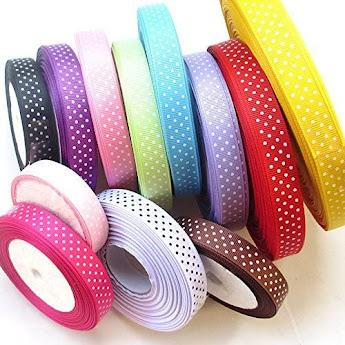 Dot Grosgrain Ribbons for DIY Handmade Accessories