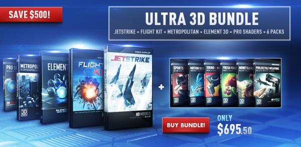 Video Copilot - Element 3D (Ultra 3D Bundle) x86 + x64 [2019, ENG]
