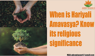When is Hariyali Amavasya? Know  its religious significance