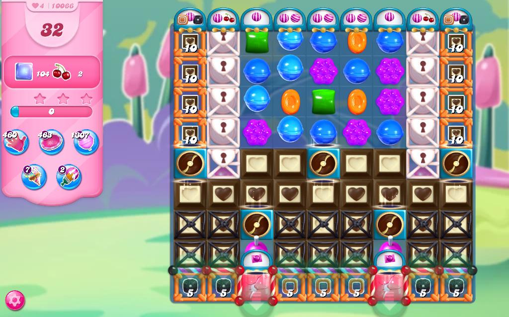 Candy Crush Saga level 10066