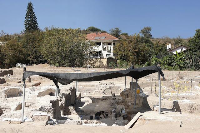 Ο χώρος της ανασκαφής στην περιοχή Tel Yavneh [Credit: Ilan Assayag]