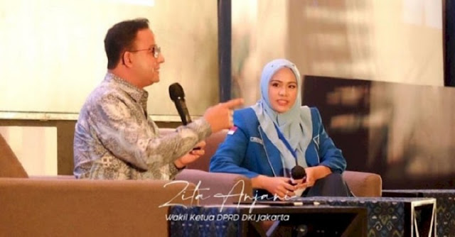 Zita Anjani Tantang Prasetio Buktikan Tuduhan Kebohongan Anies Baswedan