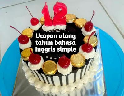 ucapan ulang tahun bahasa inggris simple untuk saudara