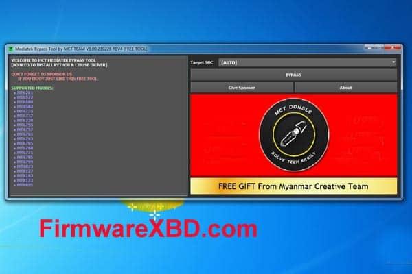 MCT MediaTek (MTK) Auth Bypass Tool