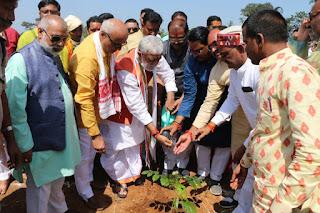 ashwini-chaube-planting-tree